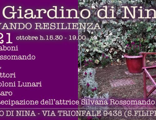 Coltivando resilienze nel Giardino di Nina