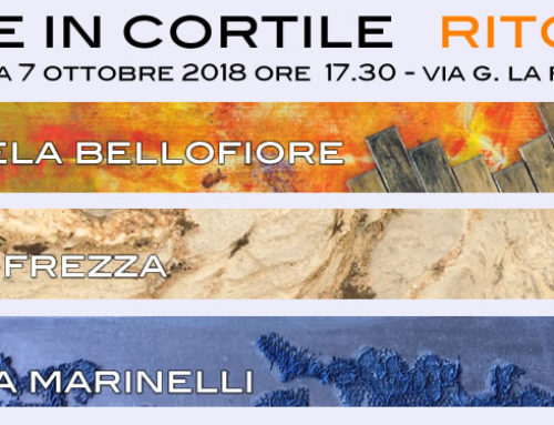 Ritorni, un evento di arte in cortile