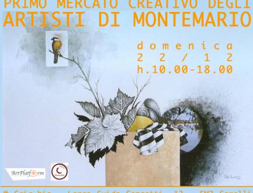 Primo Mercato Creativo degli Artisti di Montemario